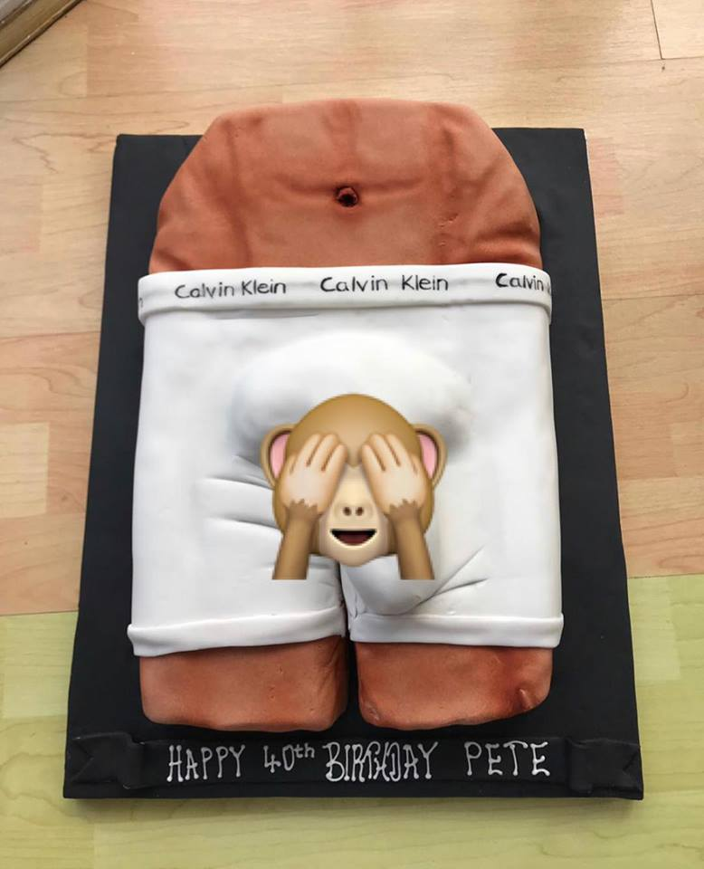 Fabulous Naughty But Nice Birthday Cake Personalised Birthday Cards Veneteletsinfo