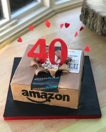 Bursting Amazon cake