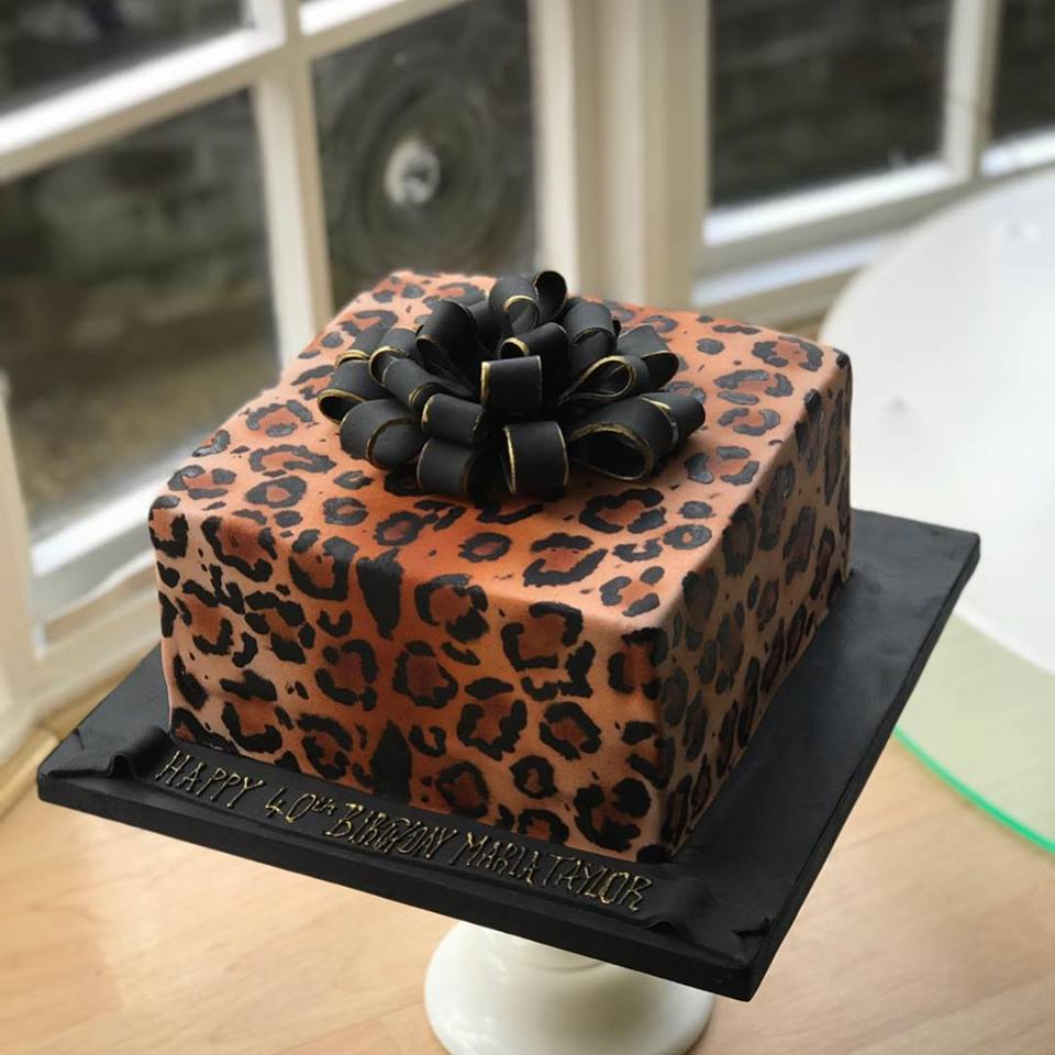 Admirable Leopard Print Birthday Cake Funny Birthday Cards Online Inifofree Goldxyz