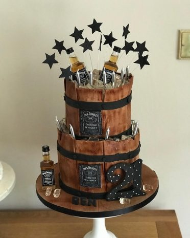 Magnificent Birthday Cakes For Him Mens And Boys Birthday Cakes Coast Cakes Personalised Birthday Cards Veneteletsinfo