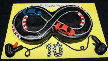 Scalextric cake
