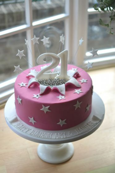 Superb Birthday Cakes For Her Womens Birthday Cakes Coast Cakes Personalised Birthday Cards Veneteletsinfo