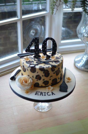 Hairdressers birthday cake