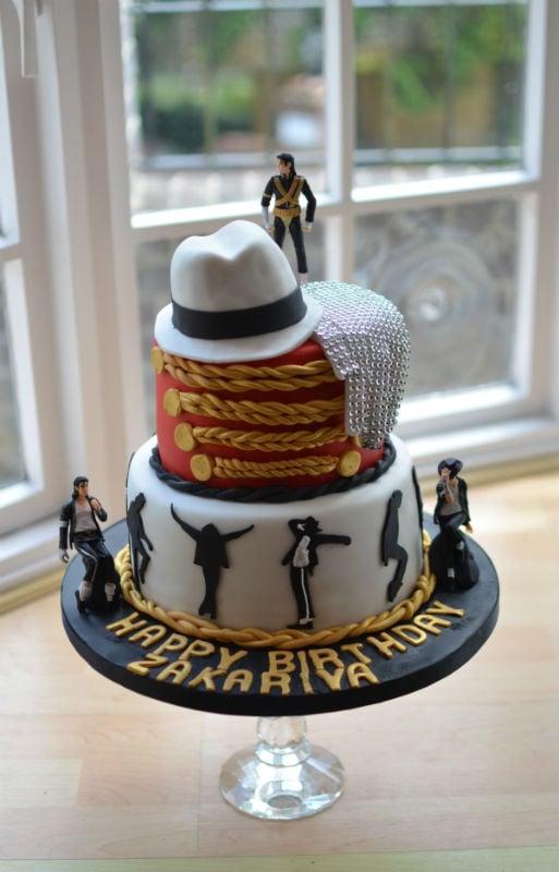 Superb Michael Jackson Birthday Cake Funny Birthday Cards Online Alyptdamsfinfo
