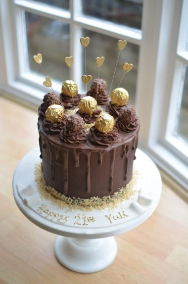 Ferraro Rocher birthday cake