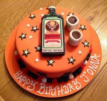 Shot cake