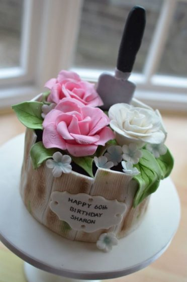 Gardeners birthday cake.