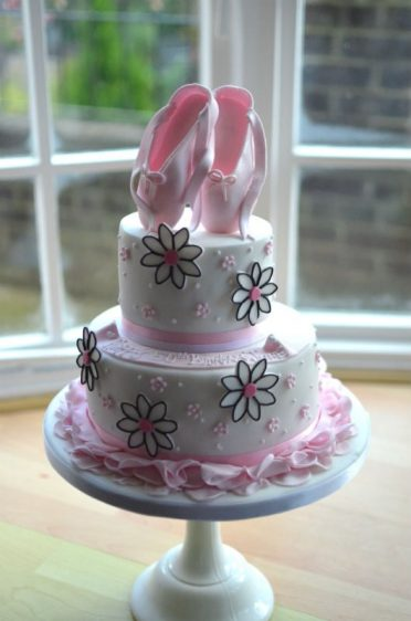 "Ballet cake for ""Dancing Daisy"""