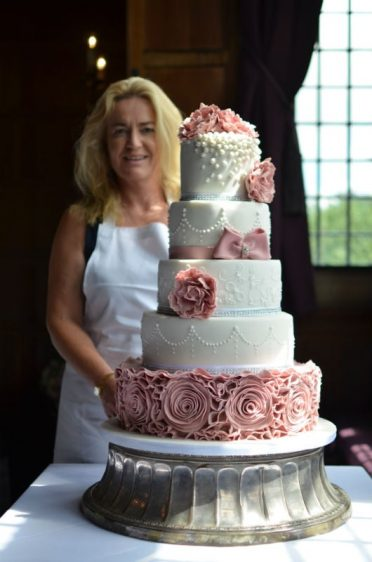 Another safe delivery by Coast Cakes at Rhinefield House
