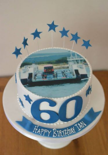 Sandbanks ferry birthday cake.