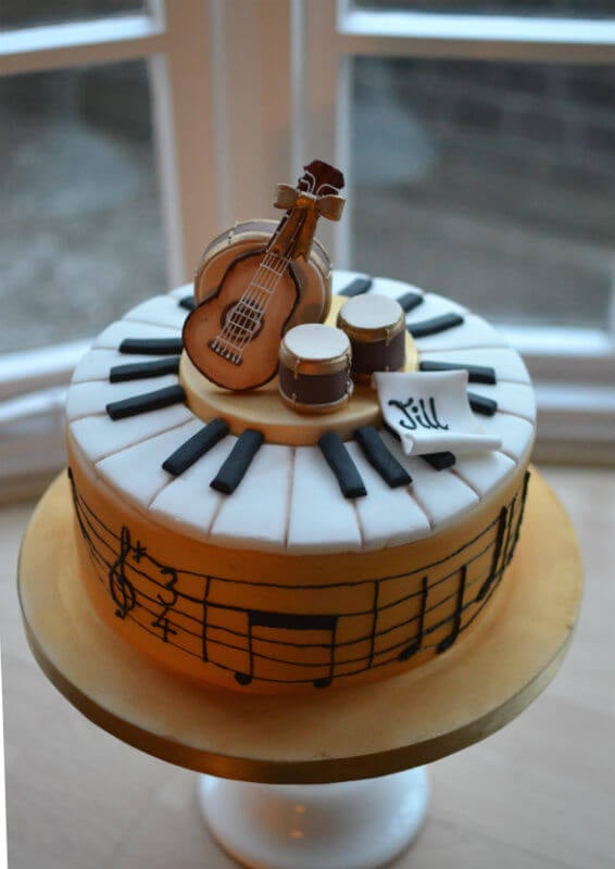 Superb Musical Cake Notes Read Happy Birthday To You Funny Birthday Cards Online Alyptdamsfinfo