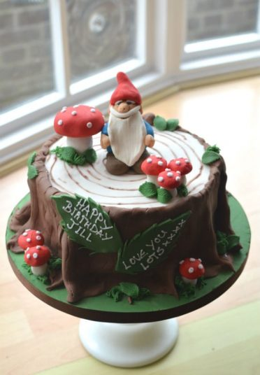 Gnome Birthday cake.