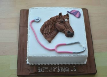 Doctor's/ horse riders cake
