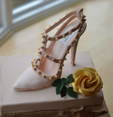 Handmade sugar shoe