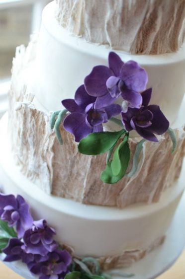 Close up of sugar orchids.