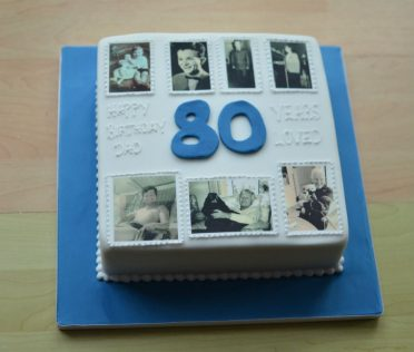 Timeline photo birthday cake