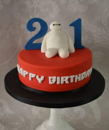 Baymax cake