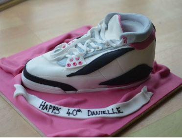 Trainer shoe cake