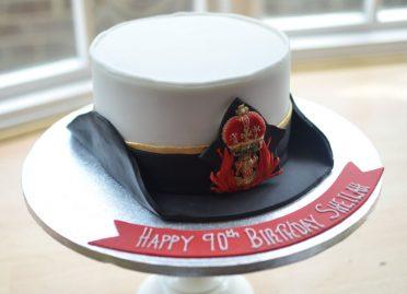 Naval nurse hat cake