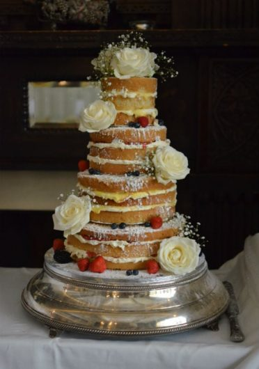 Four tier lemon & Victoria at Lilly Langtree Hotel