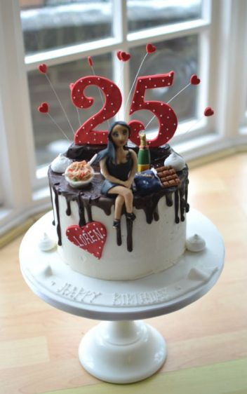 Girlfriend Personalised Birthday Cake