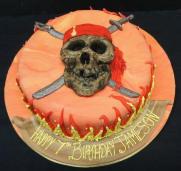 Pirates birthday cake
