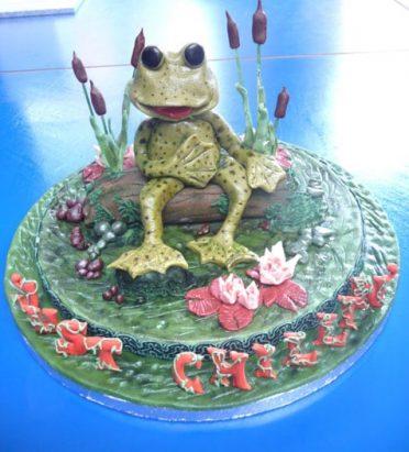 frog-cake