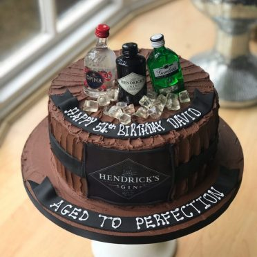 Gin Birthday cake