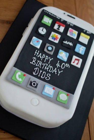 iPhone 6 cake