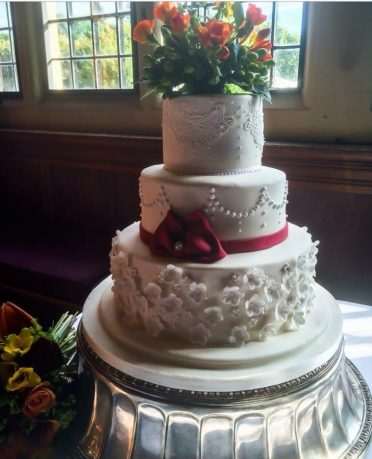 Lace & petals at Rhinefield House