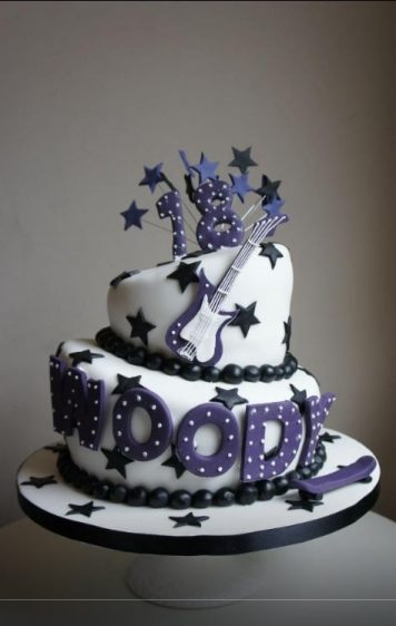 Purple wonky