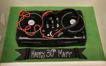 DJ cake