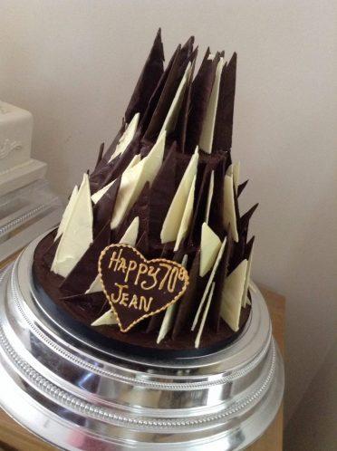 Chocolate spikey cake