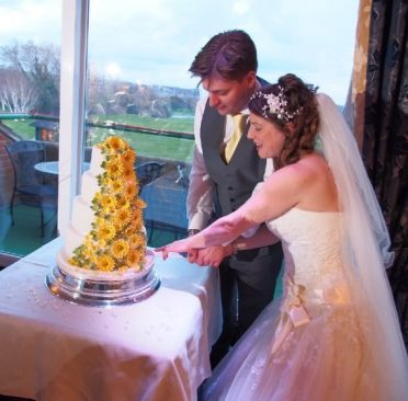 Cake cutting at the Dudsbury