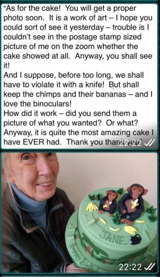 Dr Jane Goodall OBE Primatologist and Janes environmental page https://rootsandshoots