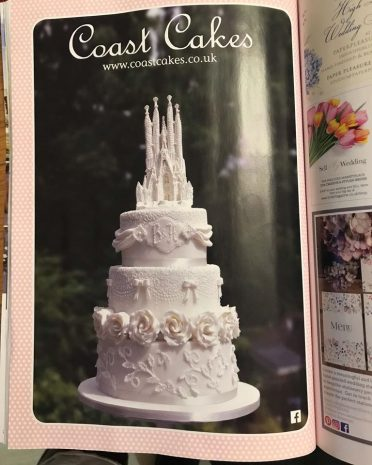 Full page in Bride magazine 2020