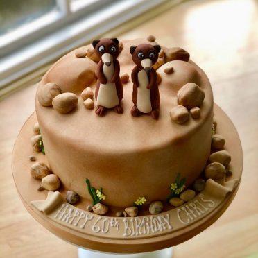 Meerkats birthday cake