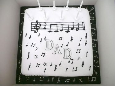 music-cake