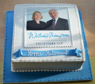 Retirement / corporate cake