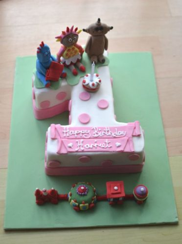 In the Night Garden birthday number 1 cake