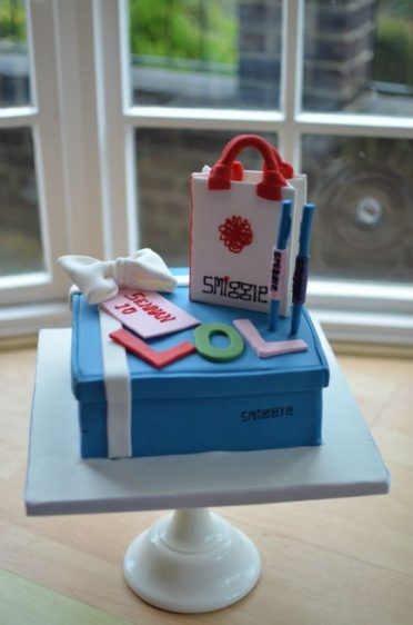Smiggle birthday cake