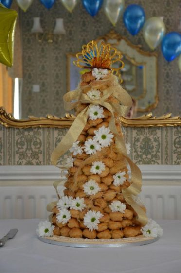 Croquembouche for Trev's 90th Birthday
