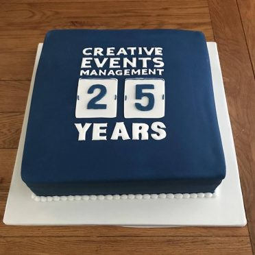 Large corporate cake for AUB