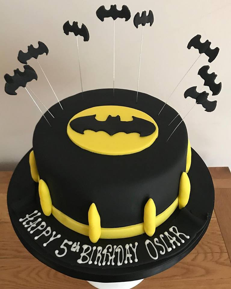 Fine Batman Birthday Cake Without Figure Funny Birthday Cards Online Elaedamsfinfo