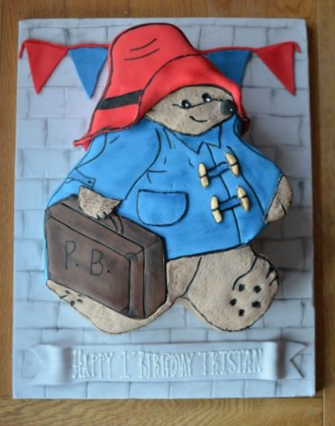 Paddington Bear birthday cake
