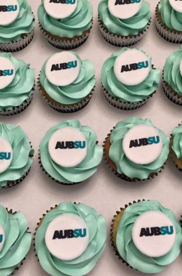 Corporate cupcakes Bournemouth Uni