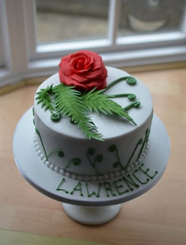 NZ & England cake
