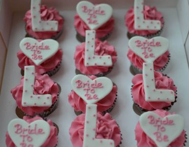 Hen party cupcakes
