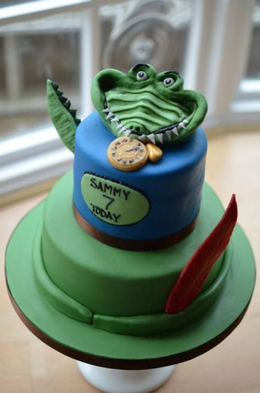 Peter Pan cake with Croccodile
