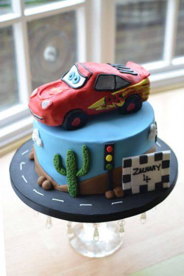 Disney cars cake.